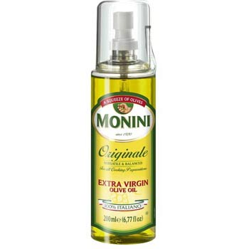 MoniniExtra Virgin Olive oil Originale -  Spray Bottle -  6.77 oz (200ml)