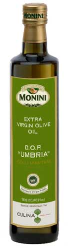 Special Selection DOP Umbria Extra Virgin Olive Oil for Culina.